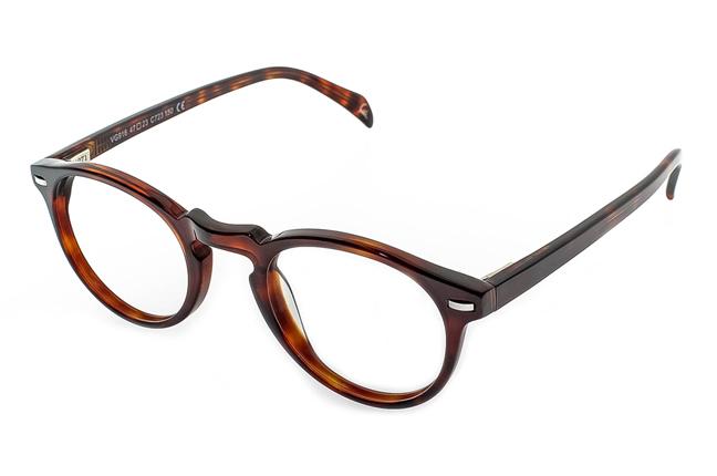 Una montatura degli occhiali Giorgio Valmassoi