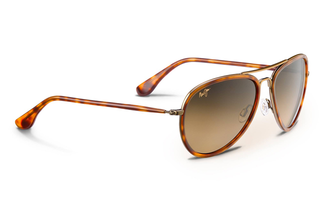 """Occhiali da sole Maui Jim: modello """"Honomanu"""" con montatura in stile """"aviator"""""""