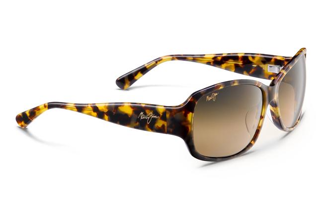 """Occhiali da sole Maui Jim: modello """"Nalani"""" con montatura rettangolare"""