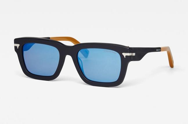 """Occhiali da sole """"Fat Dexter"""", un modello degli occhiali G-Star Raw dalla montatura rettangolare"""