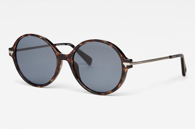 """Occhiali da sole """"Combo Tatum Sunglasses"""", un modello degli occhiali G-Star Raw dalla montatura tonda"""