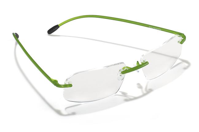 """Il modello """"Airlight"""" degli occhiali Swissflex"""