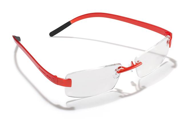 """Il modello """"Swap"""" degli occhiali Swissflex"""