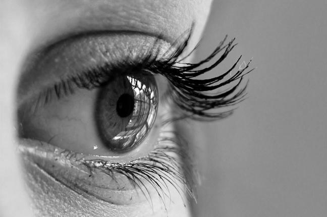 Il primo piano di un occhio
