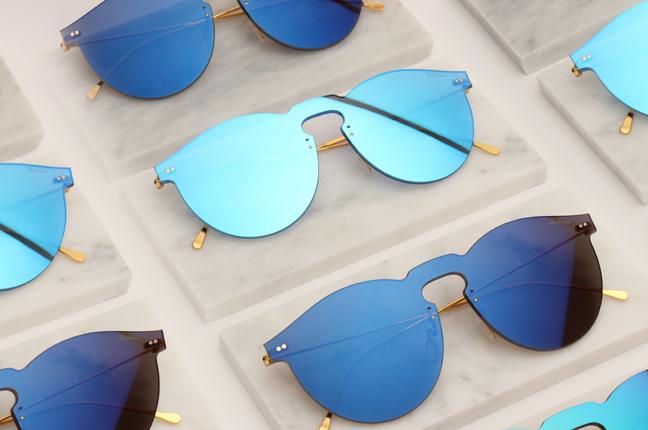 """Il modello """"LEONARD MASK"""" degli occhiali Illesteva"""