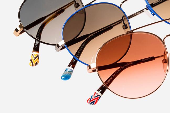 """Il modello """"BORN SUN"""" della collezione """"Vintage Collection"""" degli occhiali Etnia Barcelona"""