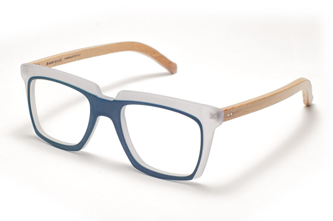 """Il modello """"Passito"""" degli occhiali da vista Barriqule"""