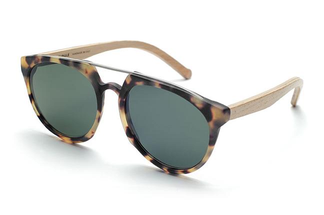 """Il modello """"Mosto"""" degli occhiali da sole Barriqule"""