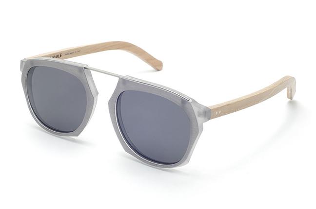 """Il modello """"Charmat"""" degli occhiali da sole Barriqule"""
