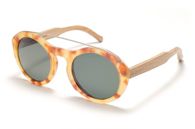 """Il modello """"Malvasia"""" degli occhiali da sole Barriqule"""