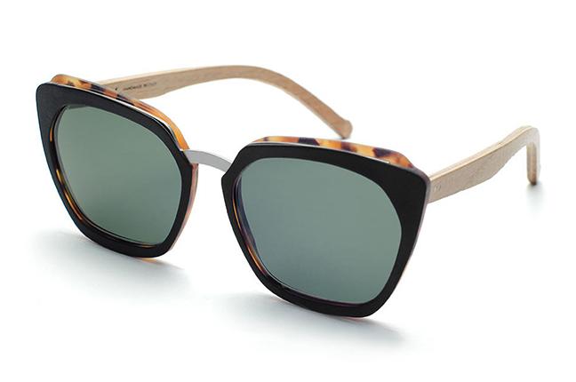 """Il modello """"Soave"""" degli occhiali da sole Barriqule"""