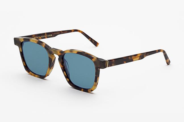 """Il modello """"Unico Havana Cheetah"""" degli occhiali SUPER by Retrosuperfuture®"""