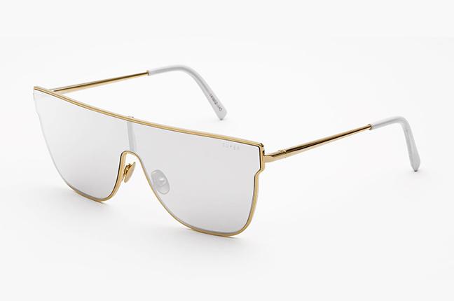 """Il modello """"Lenz Flat Top Silver"""" degli occhiali SUPER by Retrosuperfuture®"""