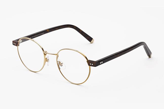 """Il modello """"Numero 36 Oro"""" degli occhiali SUPER by Retrosuperfuture®"""