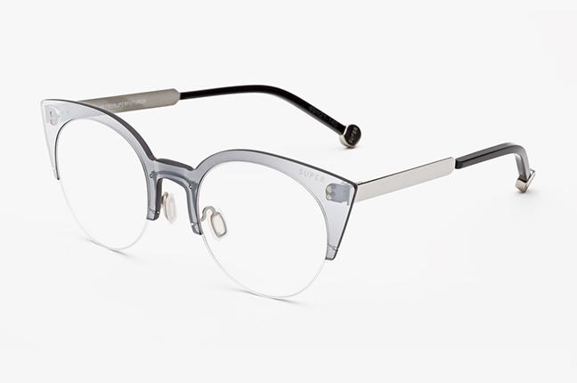"""Il modello """"Tuttolente Numero 39 Argento"""" degli occhiali SUPER by Retrosuperfuture®"""