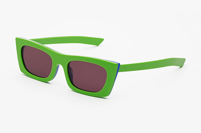 """Il modello """"Fred Green"""" degli occhiali SUPER by Retrosuperfuture®"""