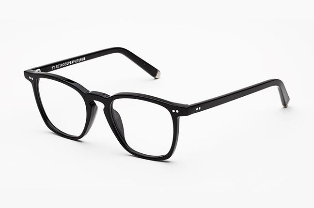 """Il modello """"Numero 35 Nero"""" degli occhiali SUPER by Retrosuperfuture®"""
