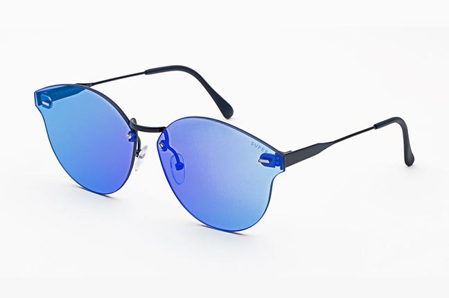 """Il modello """"Tuttolente Panamá Blue"""" degli occhiali SUPER by Retrosuperfuture®"""