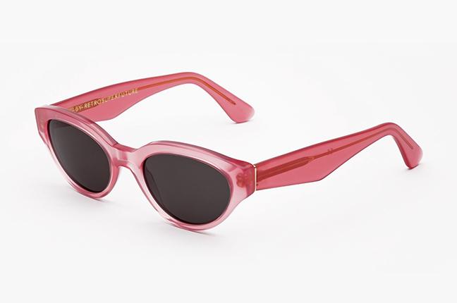 """Il modello """"Drew Pink"""" degli occhiali SUPER by Retrosuperfuture®"""