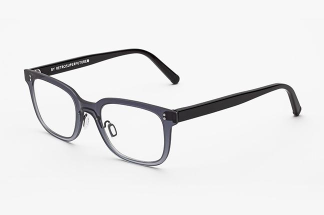 """Il modello """"Tuttolente Numero 19 Nero"""" degli occhiali SUPER by Retrosuperfuture®"""