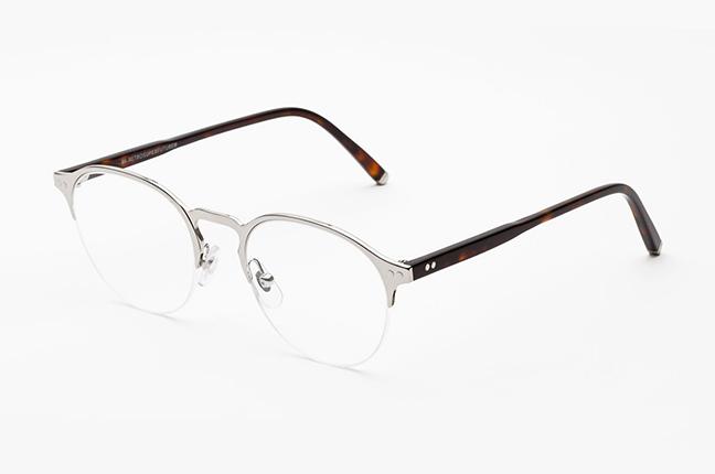 """Il modello """"Numero 38 Argento"""" degli occhiali SUPER by Retrosuperfuture®"""