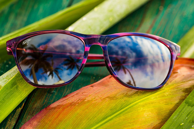"""Il modello """"SUGAR CANE"""" della collezione """"Classico"""" degli occhiali da sole Maui Jim"""