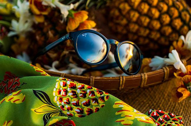 """Il modello """"PINEAPPLE"""" della collezione """"Classico"""" degli occhiali da sole Maui Jim"""
