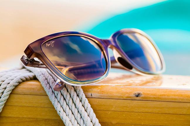 """Il modello """"HONI"""" della collezione """"Cat Eye"""" degli occhiali da sole Maui Jim"""