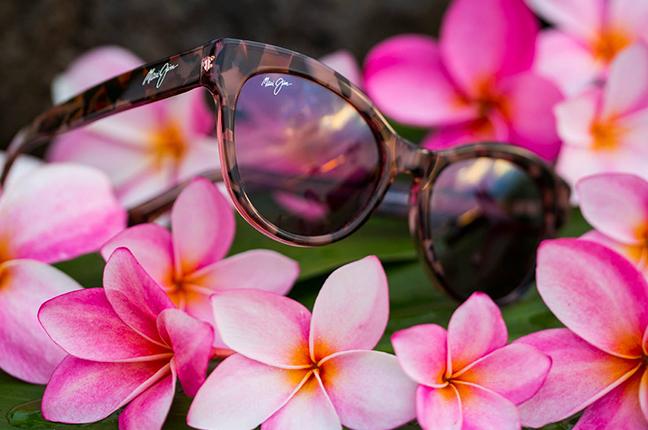 """Il modello """"KU'UIPO"""" della collezione """"Cat Eye"""" degli occhiali da sole Maui Jim"""