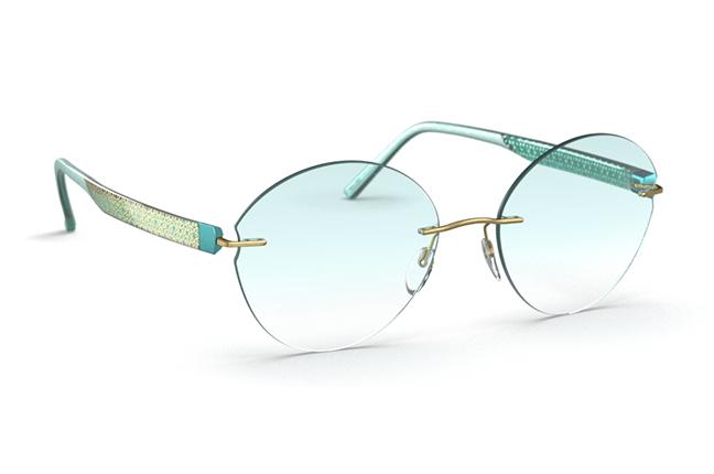 """Il modello """"Inspire Lights"""" degli occhiali Silhouette"""