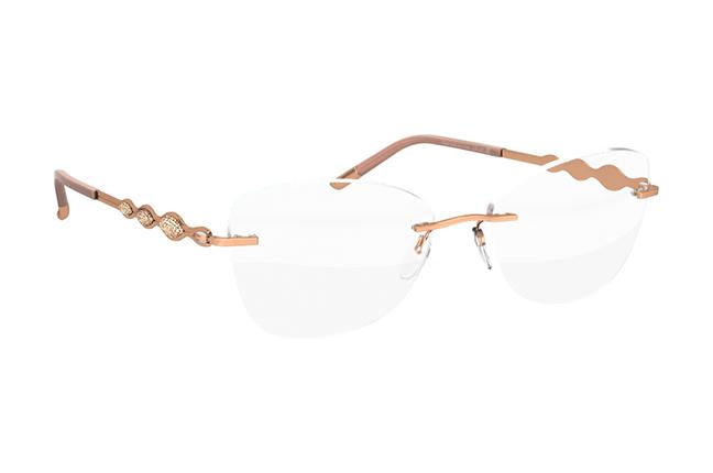 """Il modello """"Crystal Diva"""" degli occhiali Silhouette"""