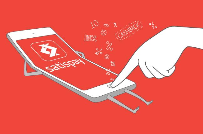 Satispay è l'app che permette di pagare nei negozi convenzionati utilizzando semplicemente lo smartphone
