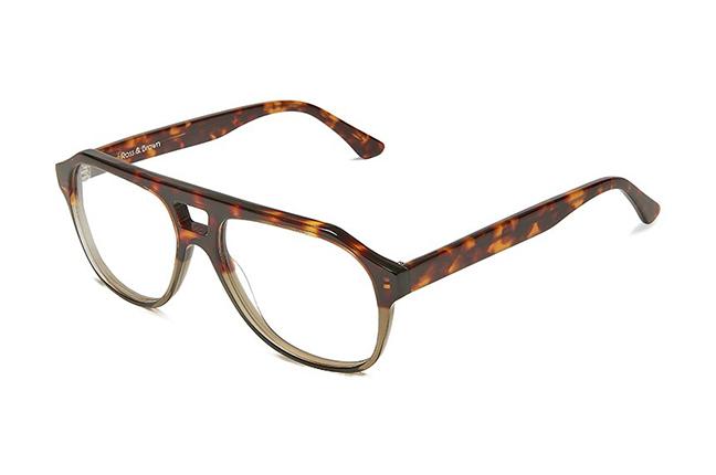 """Il modello """"LOS ANGELES"""" degli occhiali Ross and Brown, nella versione """"WILD LIFE"""""""