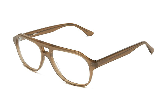 """Il modello """"LOS ANGELES"""" degli occhiali Ross and Brown, nella versione """"SAND DOLLAR"""""""
