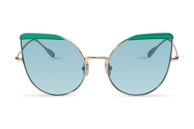 """Il modello """"Cat 1"""" degli occhiali JPlus, nella versione """"sole"""""""