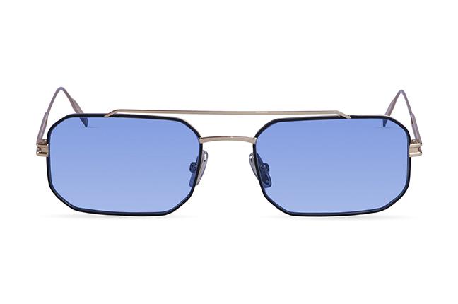 """Il modello """"Classic 8"""" degli occhiali JPlus, nella versione """"sole"""""""