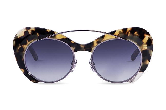 """Il modello """"Double"""" degli occhiali JPlus, nella versione """"sole"""""""