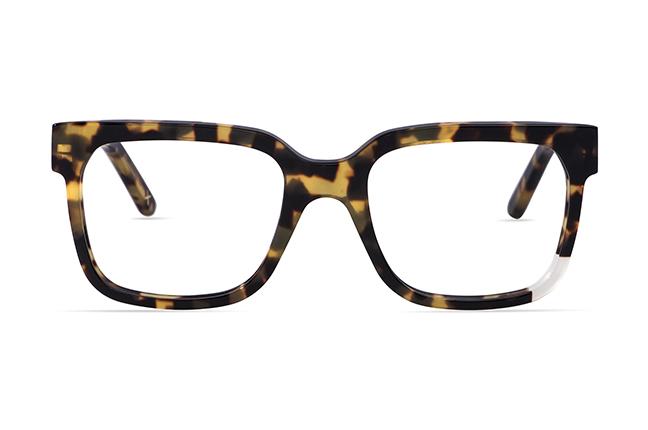 """Il modello """"Cube 2"""" degli occhiali JPlus, nella versione """"vista"""""""