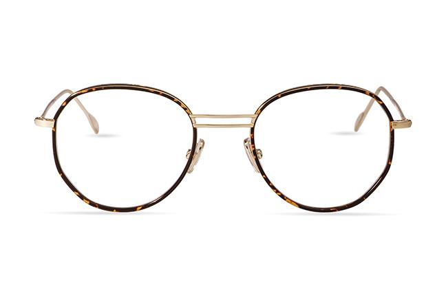 """Il modello """"Andrea B"""" degli occhiali JPlus, nella versione """"vista"""""""