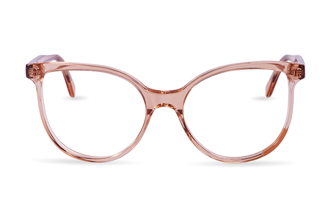 """Il modello """"Mask 3"""" degli occhiali JPlus, nella versione """"vista"""""""