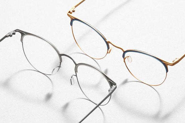 """Due modelli degli occhiali Modo, appartenenti alla collezione """"PAPER-THIN"""""""