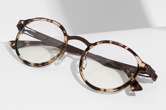 """Il modello """"BATLLO"""" degli occhiali da vista Roundten"""