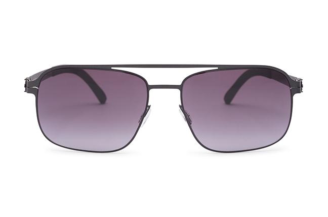 """Il modello """"HARMATTAN"""" degli occhiali Roundten, nella versione """"Black Flextal & Black Lenses"""""""