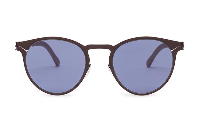 """Il modello """"VENDAVEL"""" degli occhiali Roundten, nella versione """"Copper Flextal & Blue Polarized Lenses"""""""