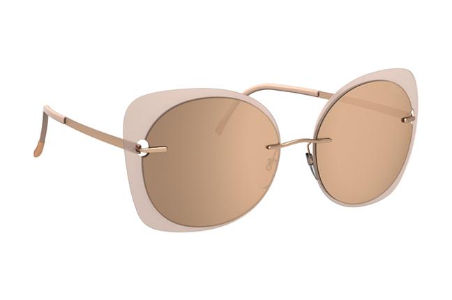 """Il modello """"Accent Shades"""" degli occhiali Silhouette (Forma della lente: 8164)"""