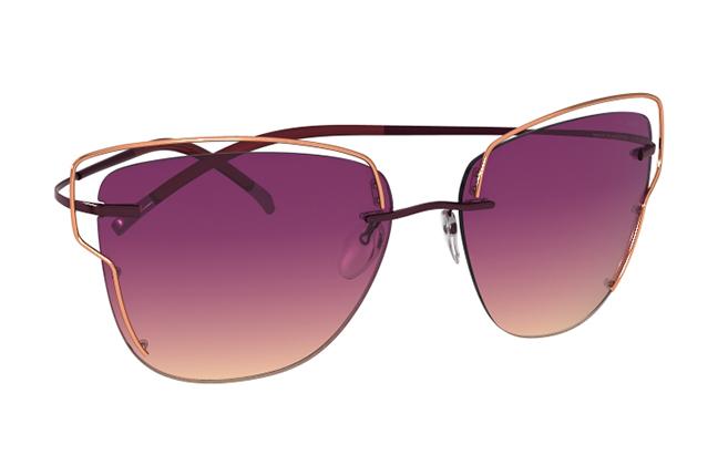 """Il modello """"TMA Atwire"""" degli occhiali Silhouette (Forma della lente: 8162)"""