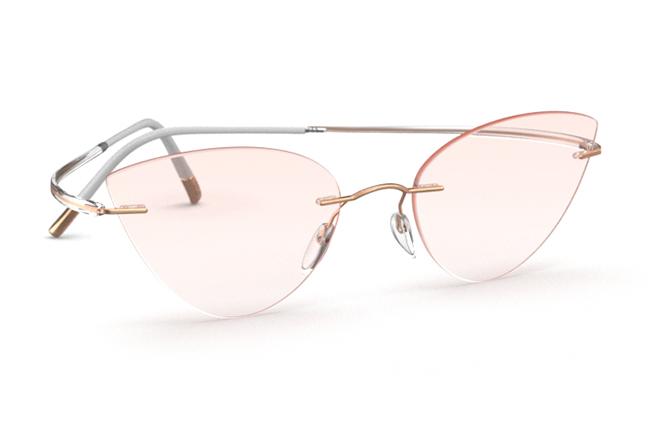 """Il modello """"Essence"""" degli occhiali Silhouette (Forma della lente: 5523 GT)"""