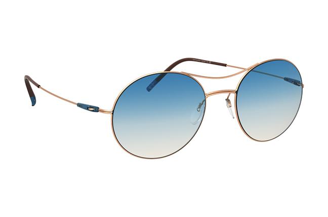 """Il modello """"Titan Breeze"""" degli occhiali Silhouette (Forma della lente: 8694)"""