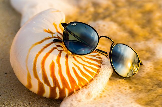 """Il modello """"NAUTILUS ASIAN FIT"""" degli occhiali da sole (da donna) Maui Jim"""