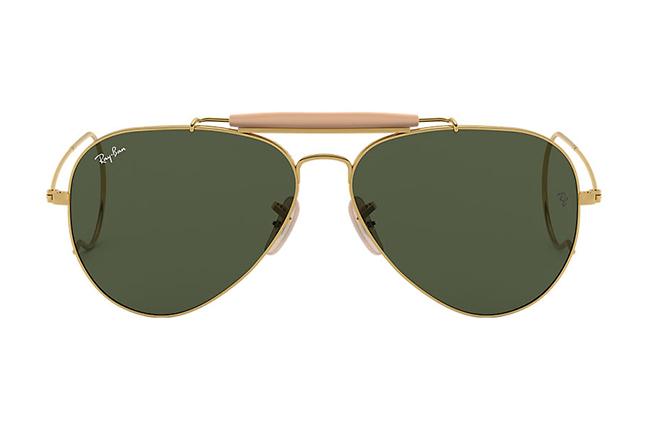 """Il modello """"OUTDOORSMAN"""" degli occhiali da sole Ray-Ban"""